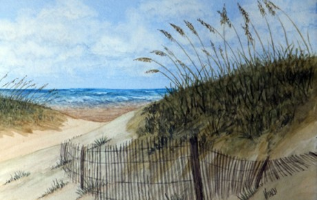 Wilmington beach painting