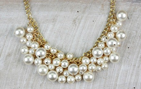Pearl Gold necklace Ruby's Closet