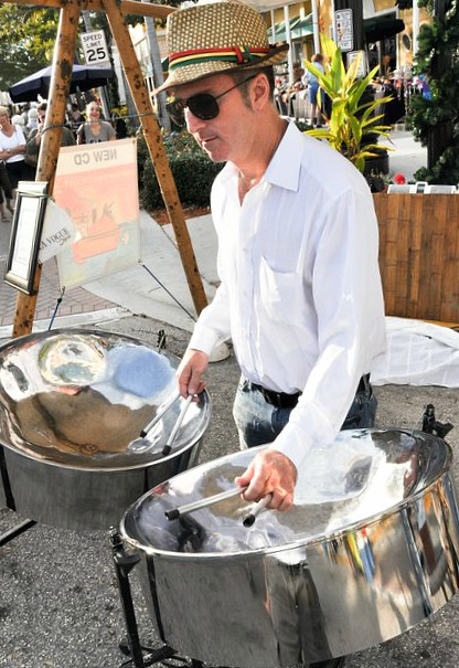 steel drums artist Doug Banner