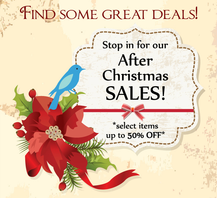 After Christmas Sales!