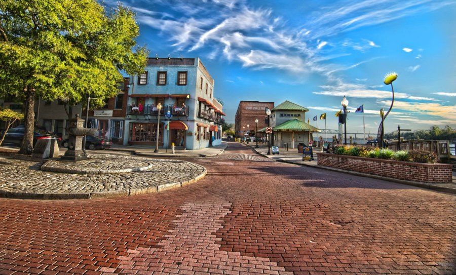 Downtown Wilmington, NC photgraph from Jeffrey P Karnes Photography