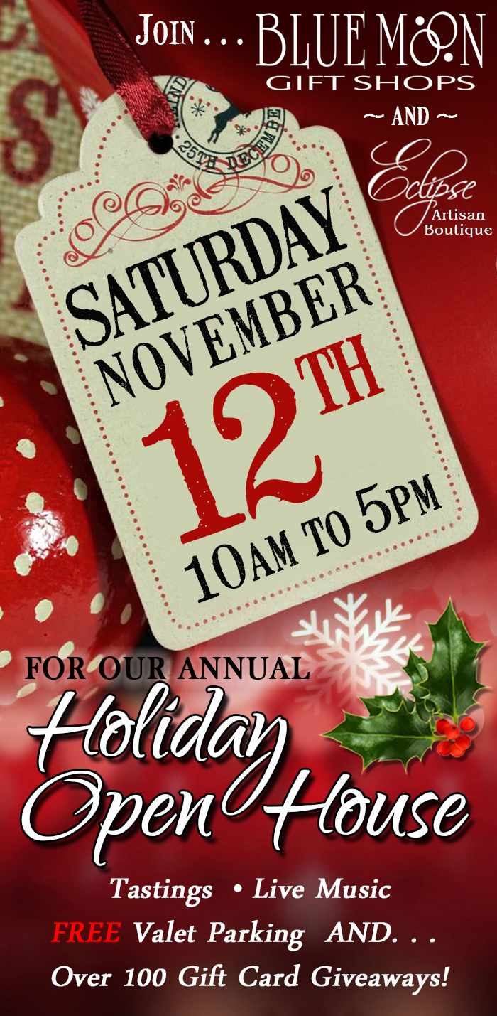 Holiday Open House Reminder