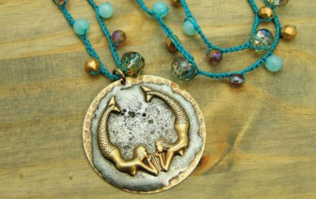 Patina Queen Mermaid Necklace