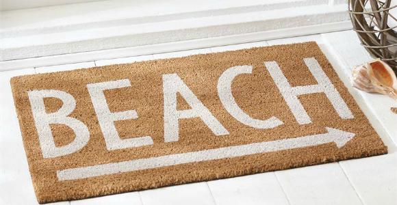 beach front door rug