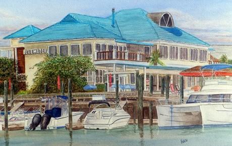 Vivaldi Bluewater Painting