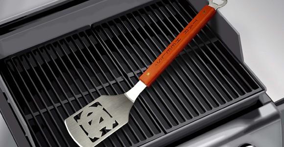 Sports themed spatula