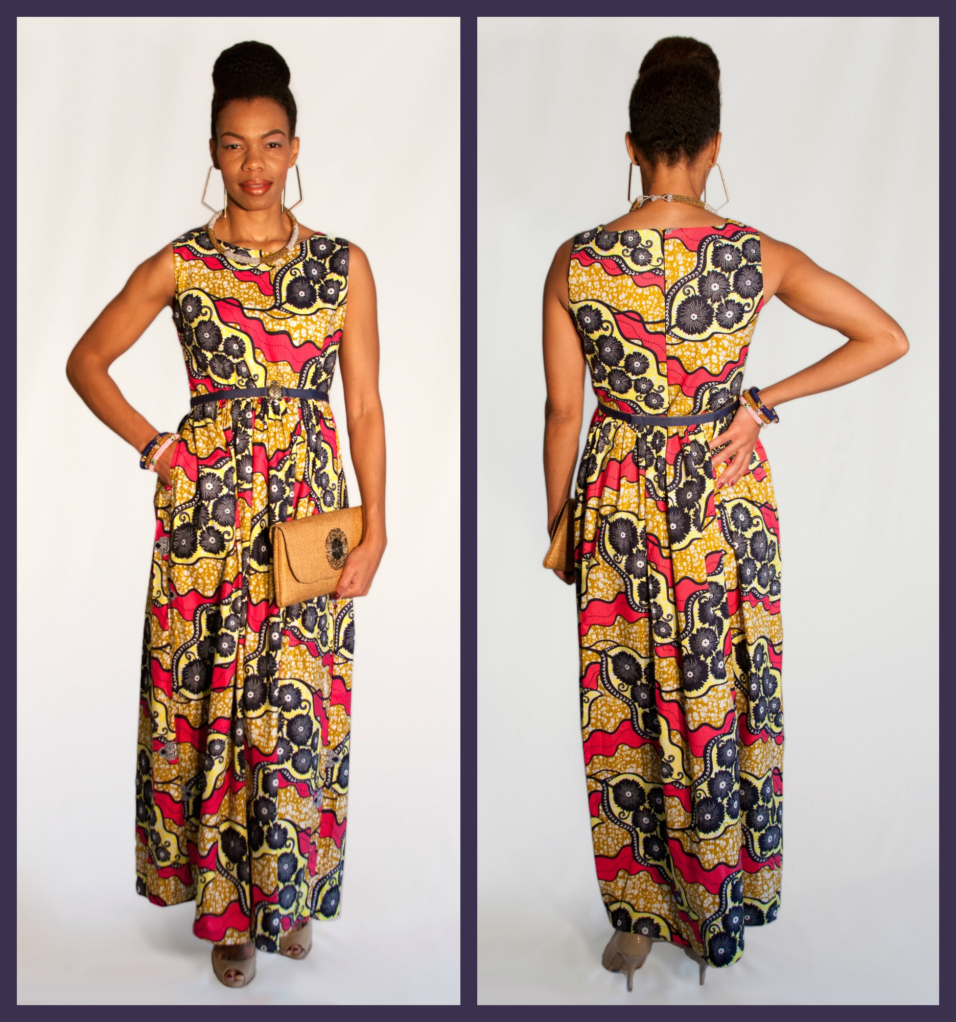 Nashona Fall Maxi Dress Wilmington NC