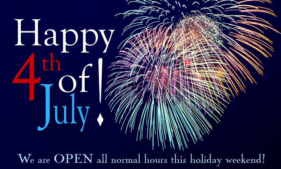 Blue Moon is open July 4th!