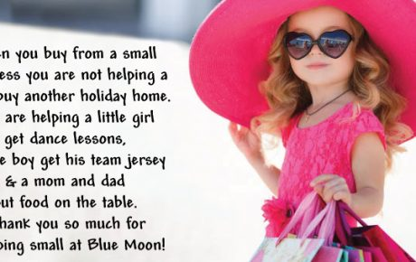 Shop Small Saturday at Blue Moon!