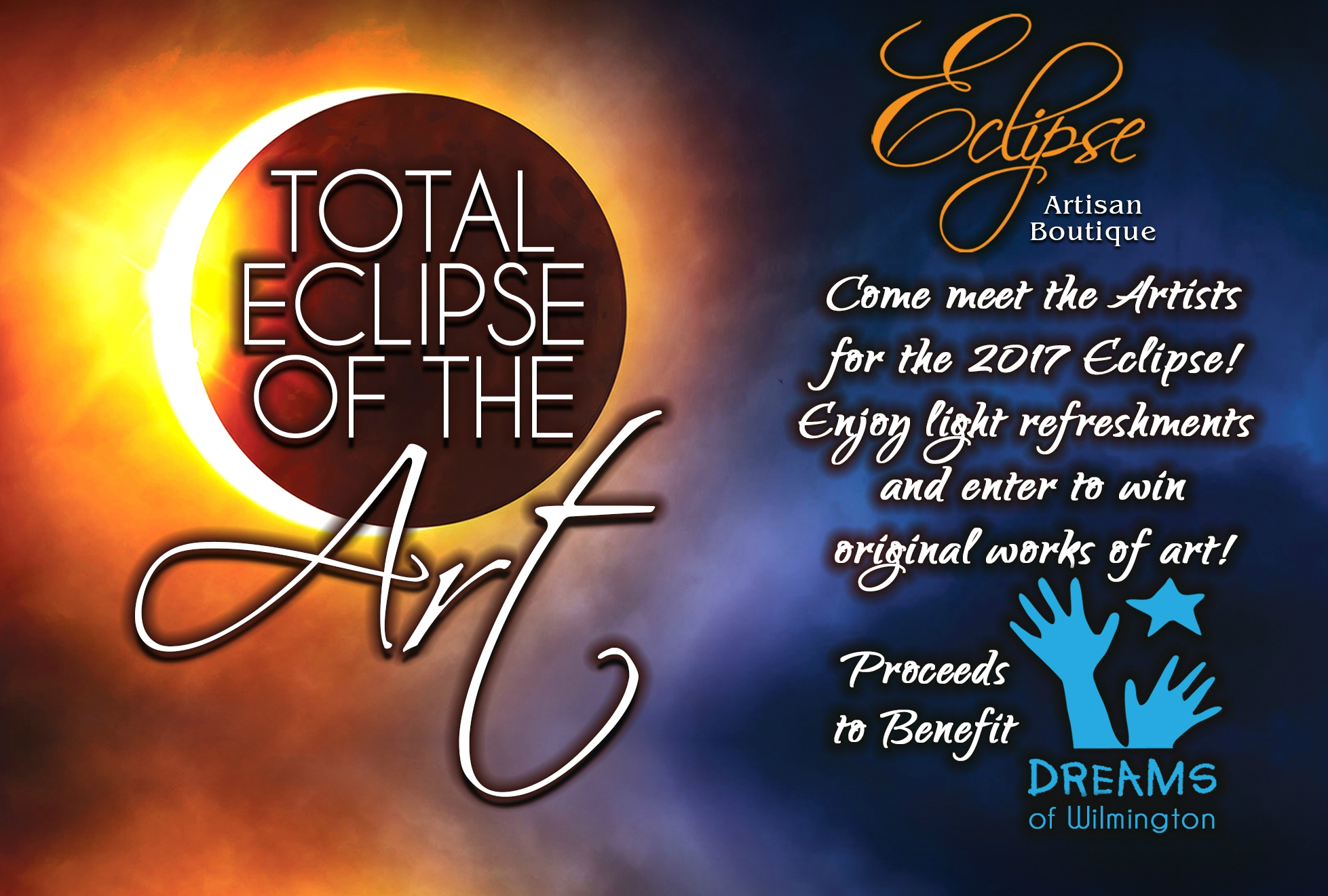 Total Eclipse of the Art Invitation